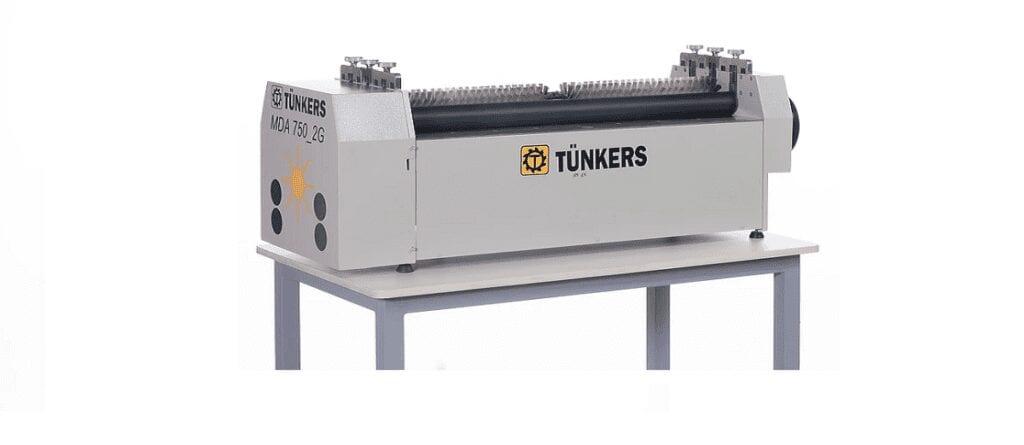 máquinas para acabamento indústria gráfica da marca Tünkers