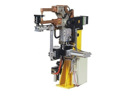 Automação em Soldagem Industrial - Pedestal welding tongs