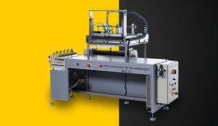 máquinas para indústria gráfica de encadernação