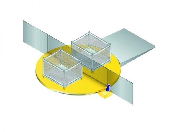 Mesa indexadora Sistema de Troca de Paletes. Nossa mesa giratória para a indexação e troca de paletes.